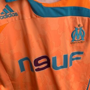 Adidas marseille soccer jersey size Large